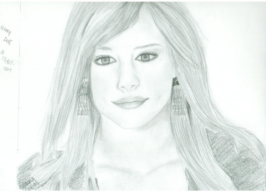 Hilary Duff by allomylaine